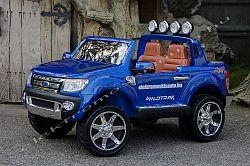 Ford Ranger kék elektromos kisauto oldal-elol.jpg