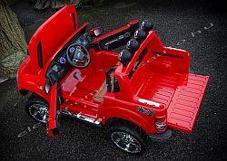 Ford Ranger piros elektromos kisauto felul.jpg