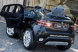 elektromos kisautó BMW X6 fekete oldal-hatul.jpg