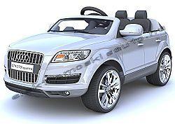 elektromos kisauto Audi Q7 Excl. ezüst oldal-elol.jpg