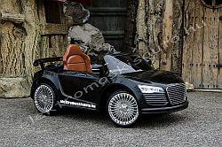 elektromos kisauto Audi R8 fekete elöl-oldal.jpg