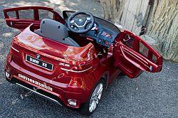elektromos kisauto BMW X6 bordo exl. oldal-hatul.jpg