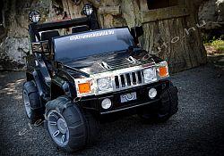 elektromos kisauto Hummer 2sz. 12V fekete oldal-elol.jpg