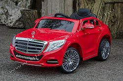 elektromos kisauto Mercedes S600 oldal-elol.jpg