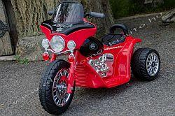 elektromos kismotor Chopper Police 6V oldal-elol.jpg