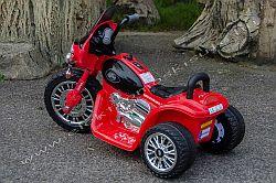 elektromos kismotor Chopper Police 6V oldal-hatul.jpg